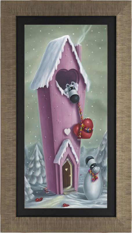 Snow Place Like Home - Framed by Peter Smith