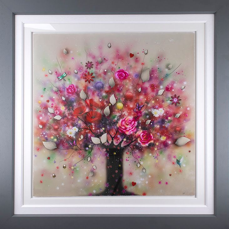 Some Kind Of Beautiful - Deluxe - Framed by Kealey Farmer