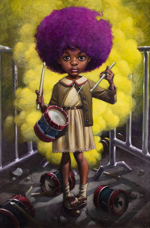 Sound Of the Funky Drummer - Mounted by Craig Davison