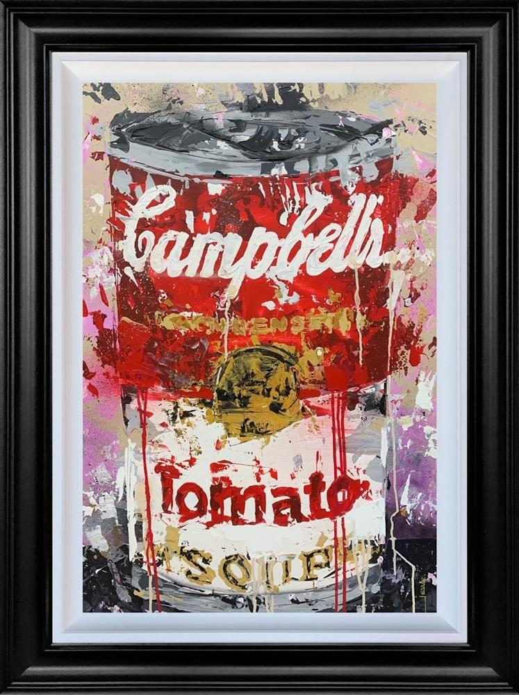 Soup - Original - Black Framed by Jessie Foakes