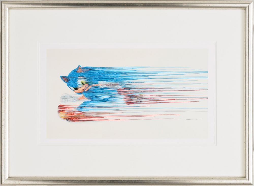 Speed Of Sound - On Paper - Framed