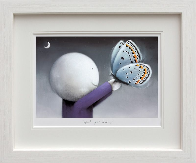 Spread Your Wings - Framed