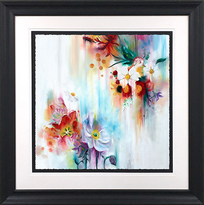 Spring Blooms (Small) - Framed