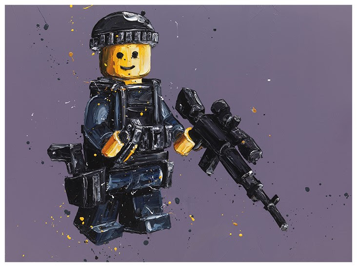 Stand By (Lego)  by Paul Oz