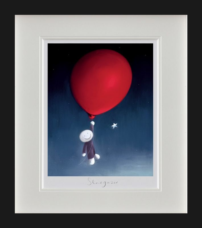 Star Gazer - Black Framed by Doug Hyde