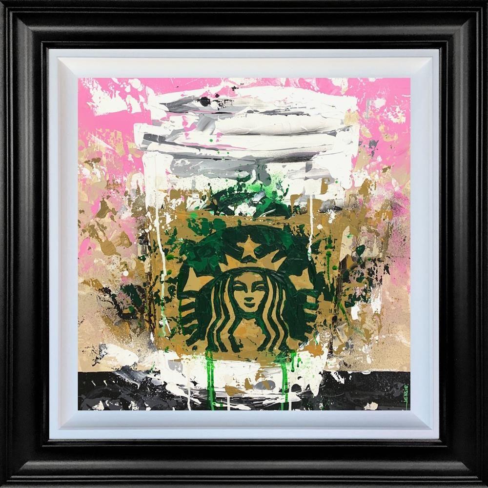 Starbucks - Original - Black Framed by Jessie Foakes