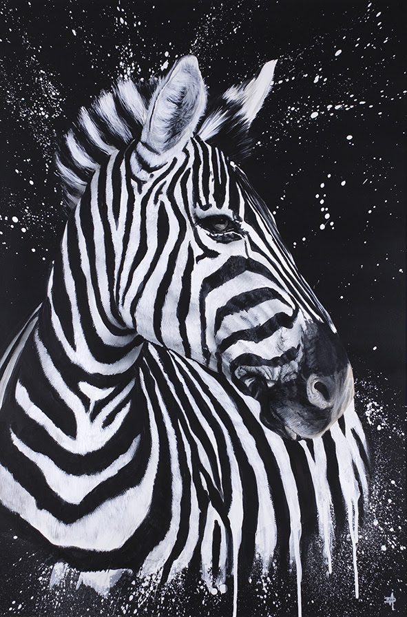 Stripes - Mounted by Dean Martin *Mad Artist