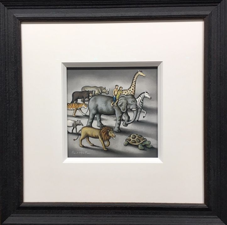 Study for Mother Earth - Original - Framed by Paul Horton