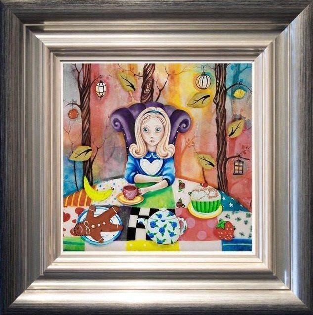 Study Of Alice At The Mad Hatters Tea-party by Kerry Darlington
