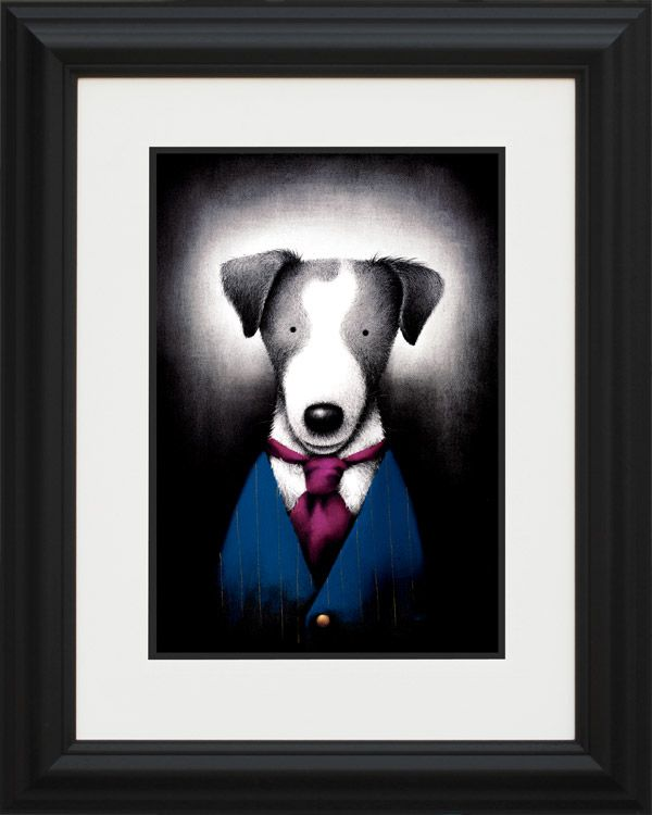 Suited And Booted - Black Curved Frame - Framed by Doug Hyde