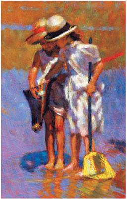 Summer Idyll II by Mark Rowbotham
