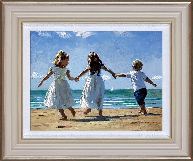 Sunkissed Memories - Framed by Sherree Valentine Daines