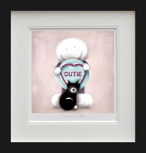 Super Cutie - Black Framed by Doug Hyde