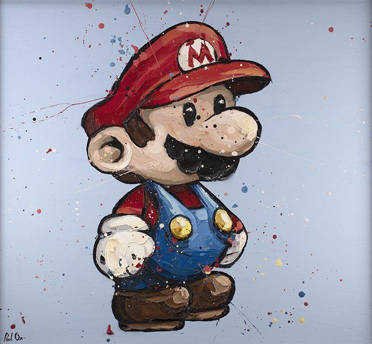 Super Mario by Paul Oz