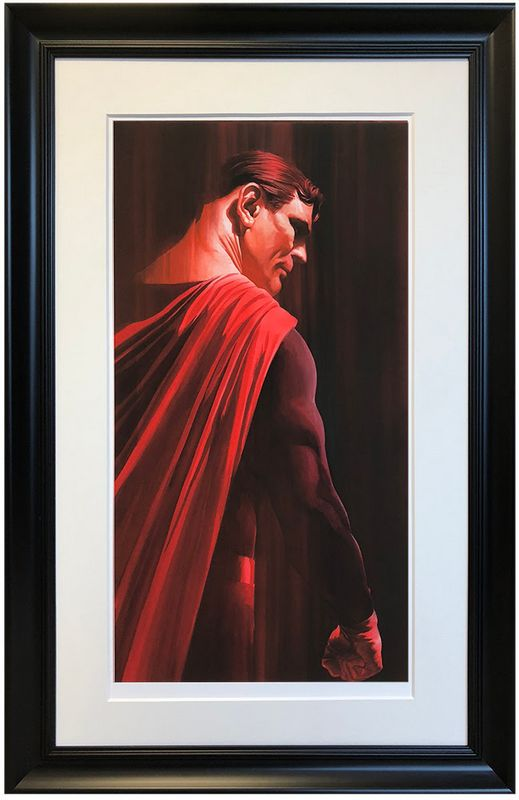 Superman - Shadows Collection - Artist Proof Framed by Alex Ross