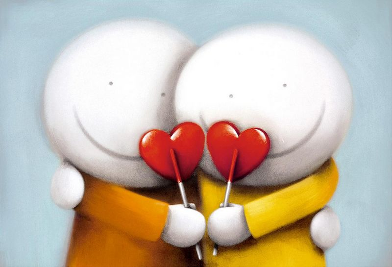 Sweethearts by Doug Hyde