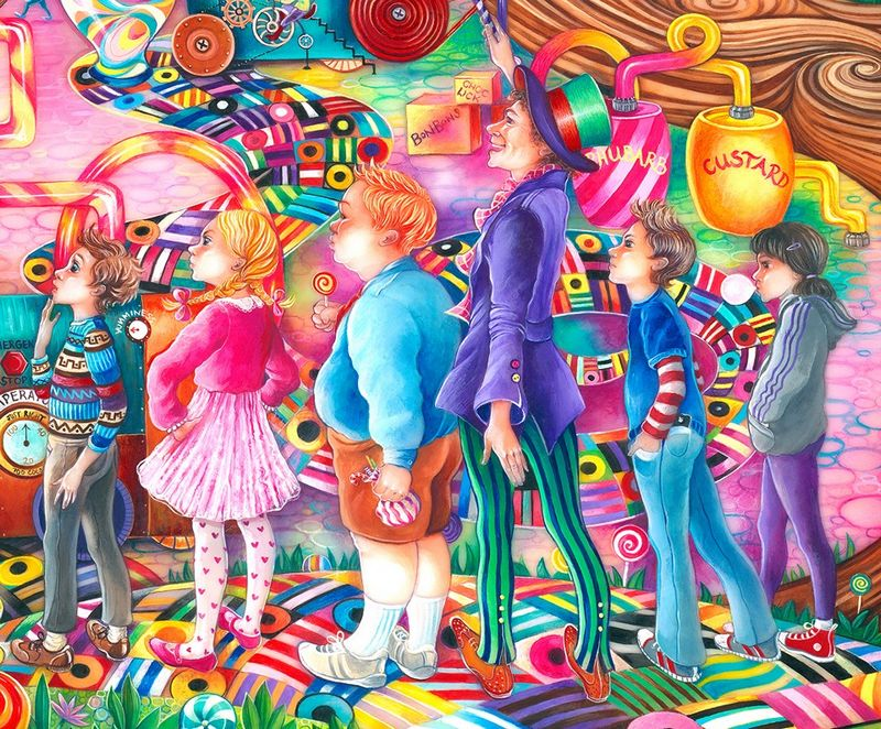 Sweets And Treats by Kerry Darlington