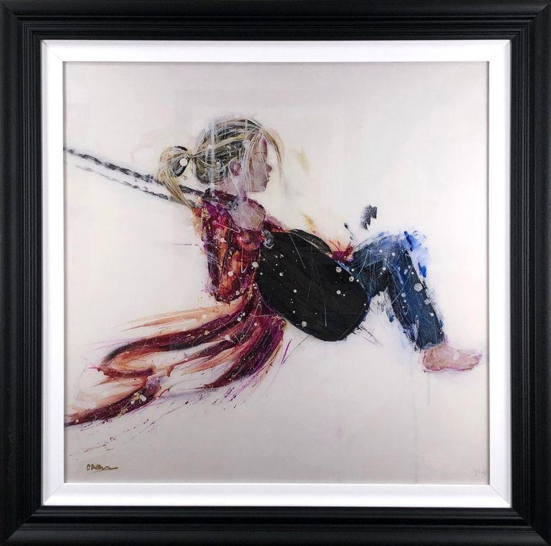 Swing - Black Framed by Carly Ashdown