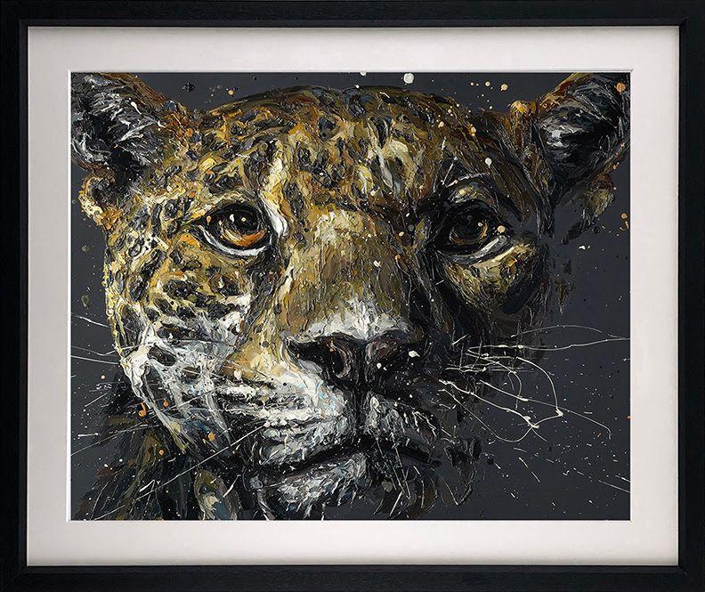Ted - Artist Proof Black - Framed by Paul Oz