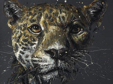 Ted 2014 - Canvas  - Framed by Paul Oz