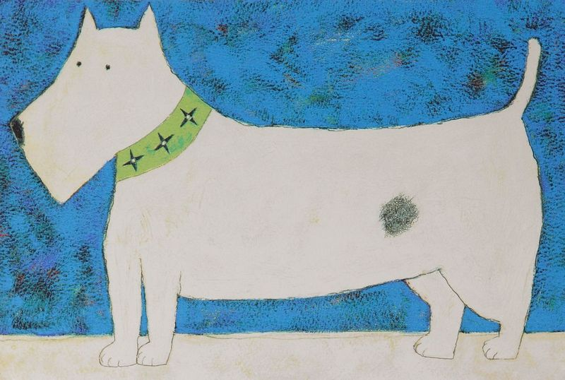 Ted (Dog) by Annora Spence