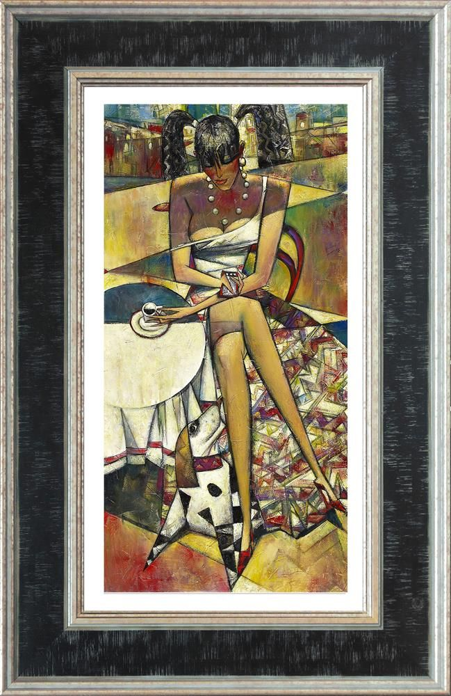 Textspresso (Large) - Framed by Andrei Protsouk