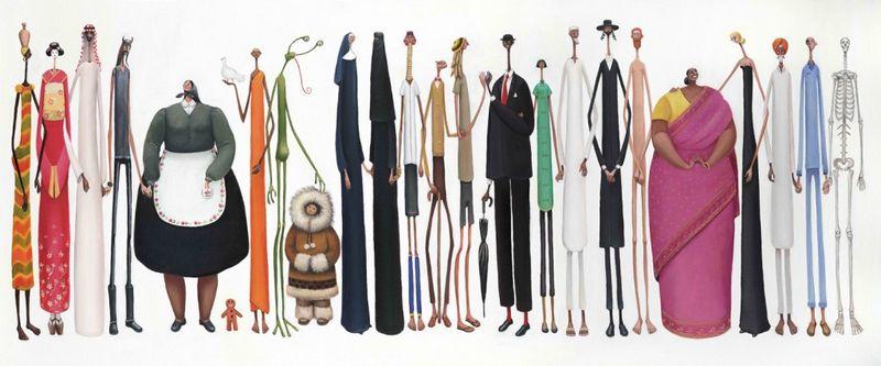 The Artists by Sarah Jane Szikora