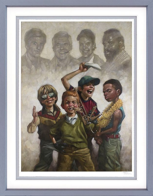 The B-Team - Framed by Craig Davison
