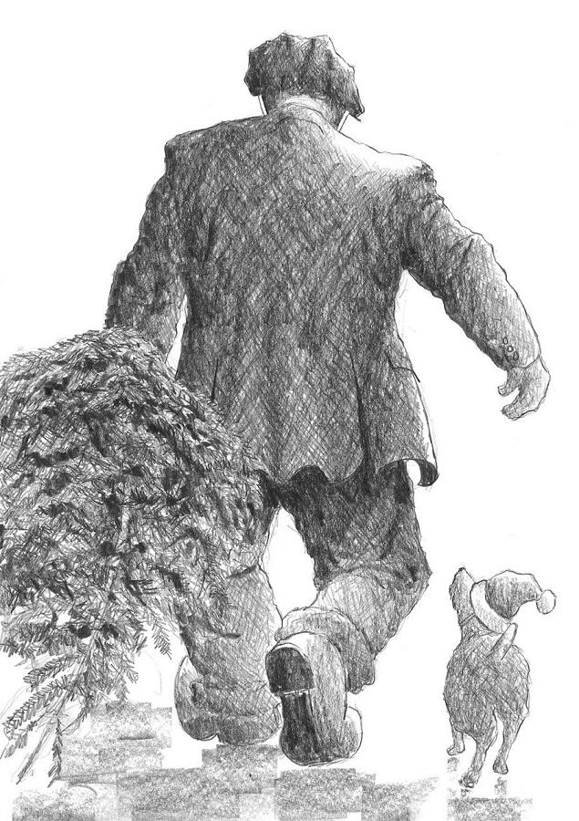 The Christmas Tree by Alexander Millar