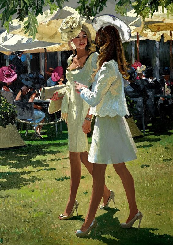 The Colour And Glamour Of Ascot by Sherree Valentine Daines