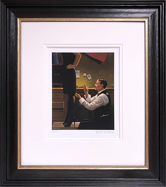 The Devoted Dressmaker - Framed by Jack Vettriano