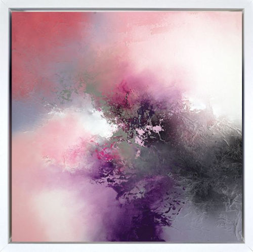 The Edge Of All Things - Box Canvas - Framed Box Canvas by Simon Kenny