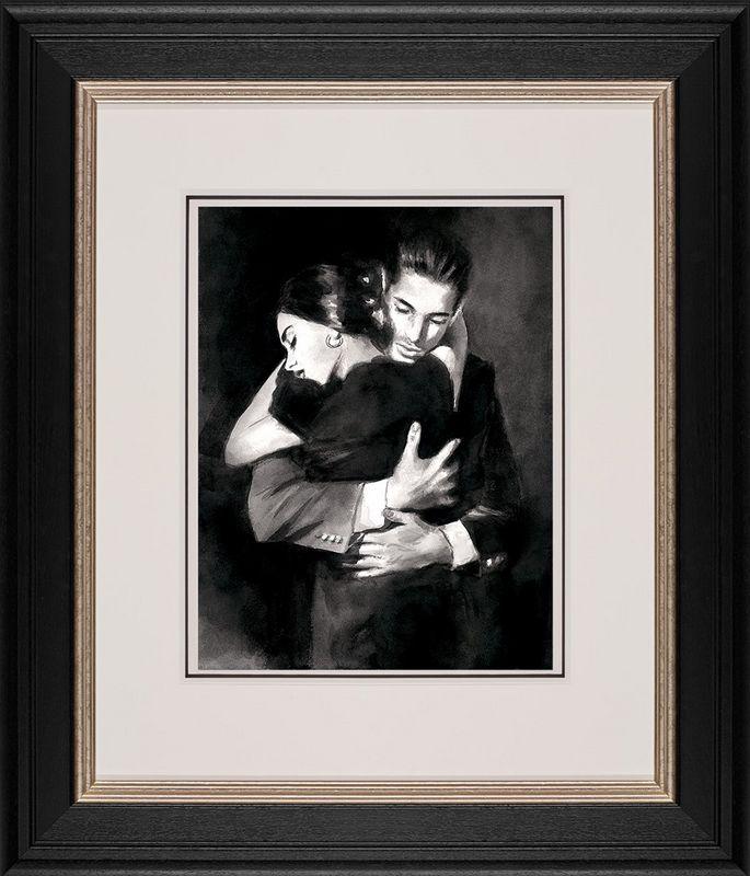The Embrace II - Framed by Fabian Perez