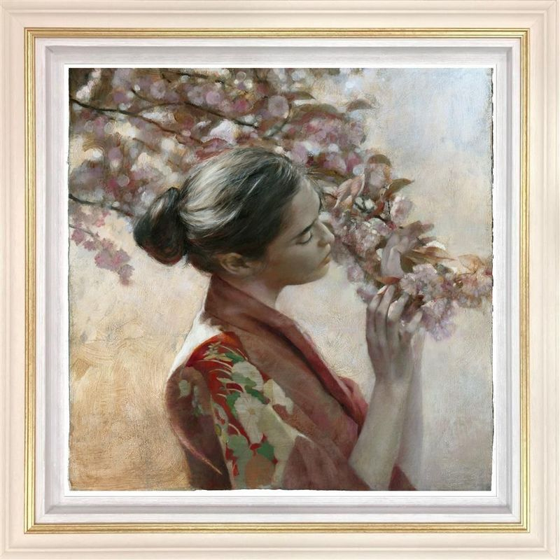 The Frailty Of Hearts And Flowers - Framed by Fletcher Sibthorp