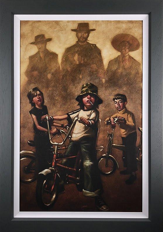 The Good The Bad & The Basin Cut - Canvas - Framed by Craig Davison