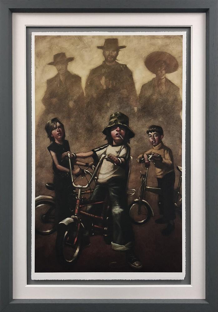 The Good The Bad & The Basin Cut - Framed by Craig Davison