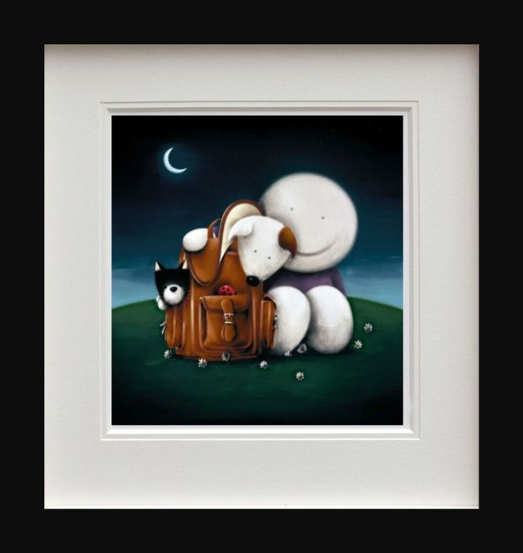 The Great Outdoors - Picture - Black - Framed by Doug Hyde