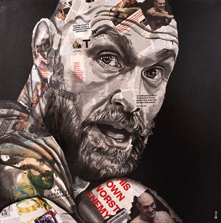 The Greatest Showman - Tyson Fury by Chess
