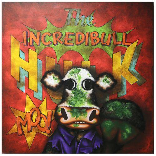 The Incredibull Hulk by Caroline Shotton