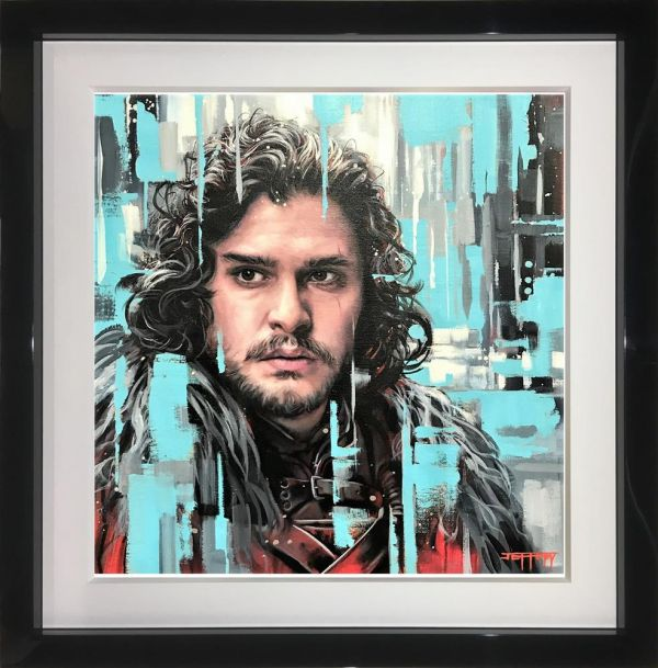 The King In The North - Origina - Black Framed by Ben Jeffery