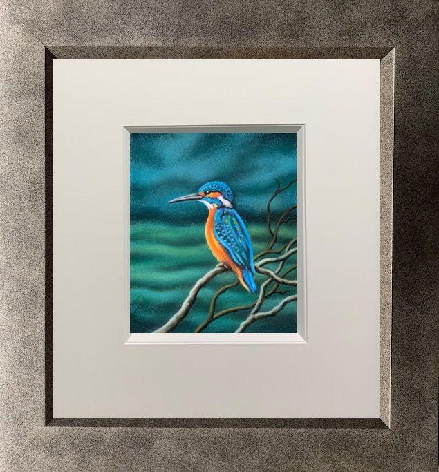 The Kingfisher - Original by Paul Horton