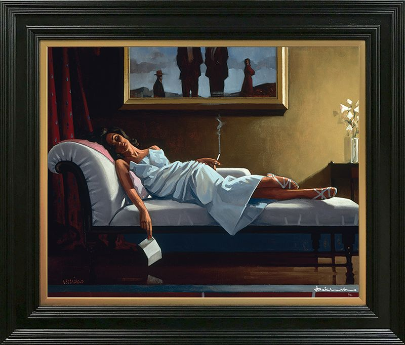 The Letter - Premium Edition - Framed by Jack Vettriano