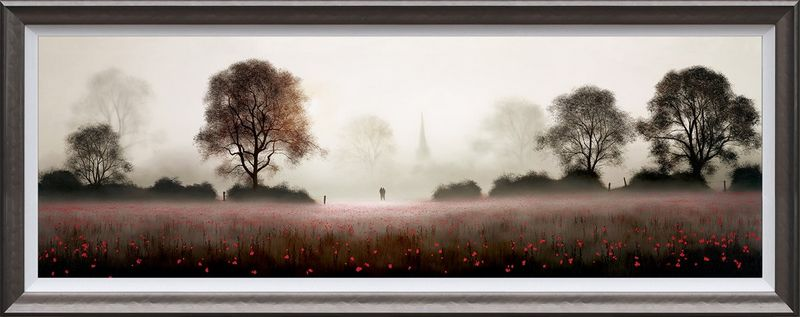 The Life We Share - Framed by John Waterhouse