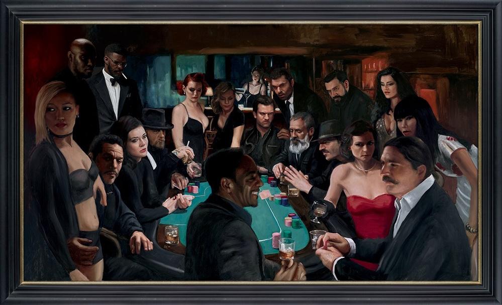 The Long Game - Framed by Vincent Kamp