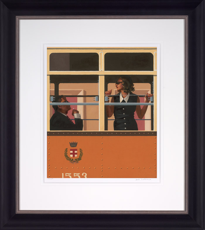 The Look Of Love - Framed by Jack Vettriano
