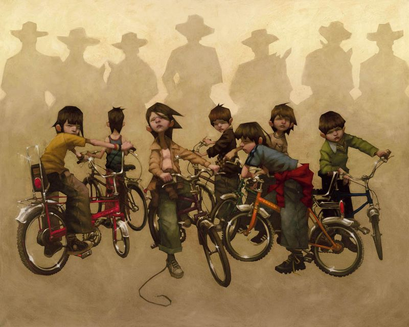 The Magnificent Seven - Mounted by Craig Davison