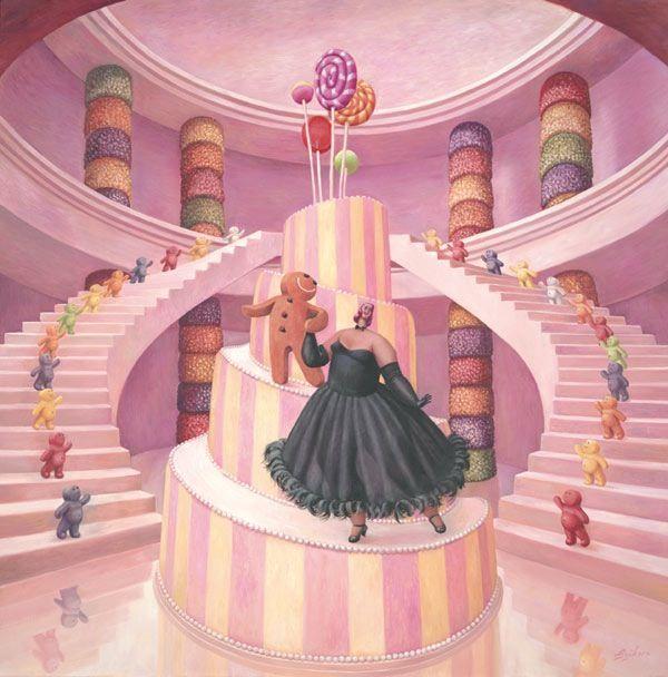 The Merry Widow - Mounted by Sarah Jane Szikora