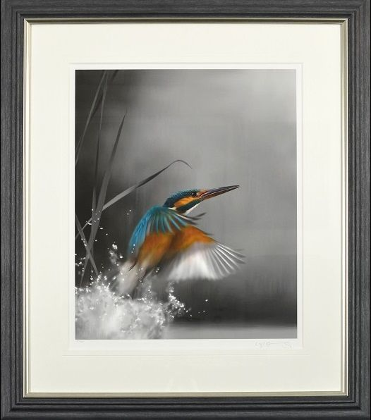 The One That Got Away - Grey Frame - Framed by Nigel Hemming