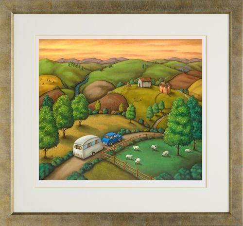 The Open Road - Framed by Paul Horton