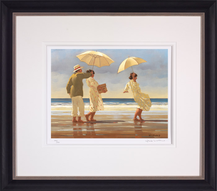 The Picnic Party (Large) - Framed by Jack Vettriano